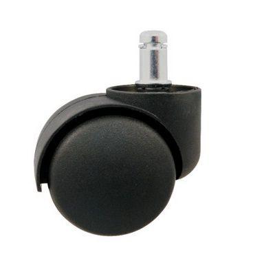 KÓŁKA do KRZESŁA obrotowego FOTELA BIUROWEGO Fi 11mm czarne / 5 sztuk Chełm - image 2