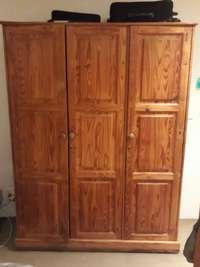 Image of Exquisite light wooden cupboard for sale. Urgent