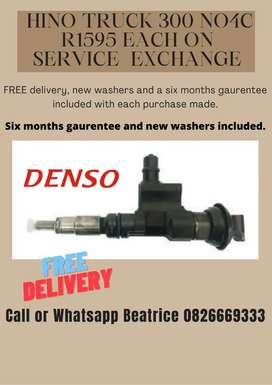Hino 300 noc4 injectors for sale