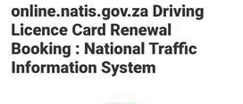 South African drivers license bookings