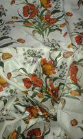 Ткань на шторы, занавески. Сделано в СССР