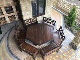 Садовая мебель . Стол . Лавочка