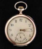 серебряные часы ZENITH 1896 г антикварные карманные мужские Швейцария