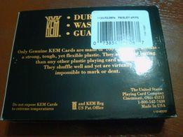 Игральные Карты KEM Paisley (оригинал - США) 3300 руб.