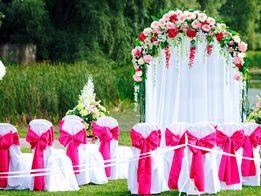 """Выездная церемония """"Под ключ""""-1500,00 грн.Свадебная арка. Декор зала."""