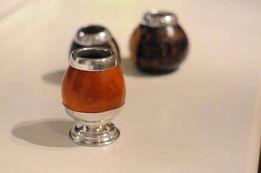 Калабас Porongo , колебас, мате, чай yerba mate на подставке