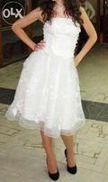 Платье выпускное/свадебное/вечернее!