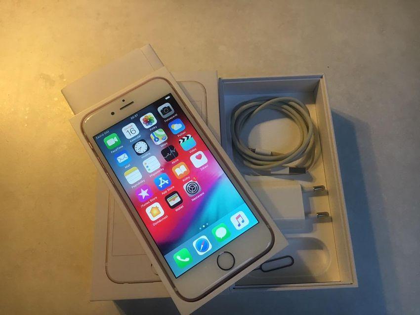 Iphone 6s rosegold 0