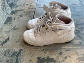 Size 8 - Nike Air Force 1 Mid '07 White 2017