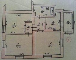 3-х комнатная квартира (часть дома) от хозяина