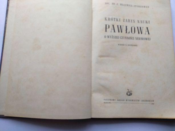 Krótki zarys nauki PAWŁOWA o wyższej konieczności nerwowej ,W-wa 1956 Jarosław - image 2