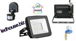 Светодиодный прожектор Biom/датчик движения/датчик освещенности