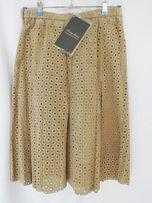 Новая женская юбка 100% натуральная кожа замша Terry Lewis L США
