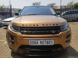 Land rover evoque sport