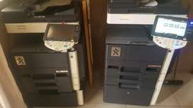 Konica Minolta 42ppm black and white copier