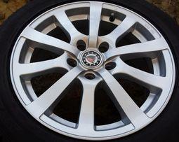 "Felgi alu Platin P58 16"" 5x112 Mercedes Audi VW Seat Skoda + opony"