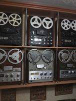 Ремонт и профилактика отечественных катушечных магнитофонов