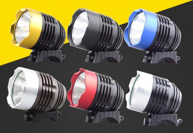 Вело фара USB 5 цвет CREE XM-L T6 LED 500Lm велосипед велофара фонарь Черкассы - изображение 1