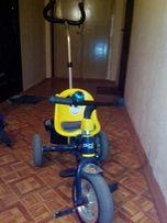 Продам детский 3-х колесный велосипед Profi Trike с ручкой