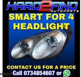 SMART FOR 4 HEADLIGHT CONTACT US FOR A PRICE