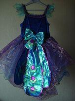 Карнавальное платье павлина для девочки 7-8 лет Fairy Dust