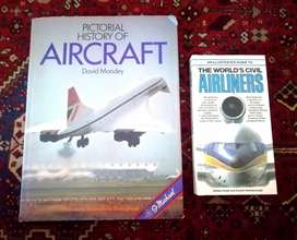2x Aviation books - R60 for both
