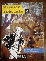 Książka Mission speciale 2 (j. francuski) + ćwiczenia