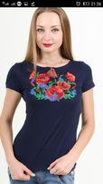 Продам женские вышитые футболки