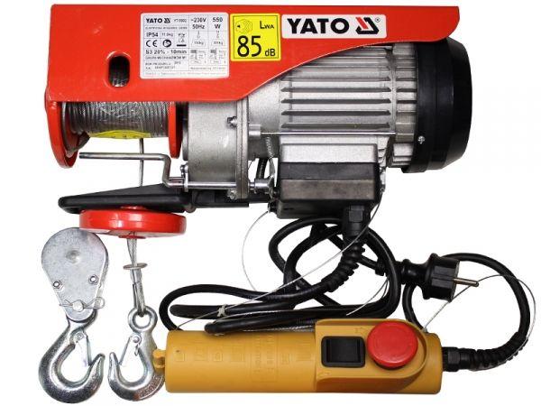 Электротельфер тросовый 300кг Yato YT-5902