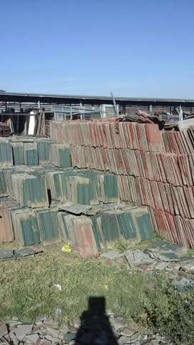 Used WTC roof tiles