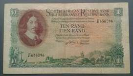 Nice 1962 large R10 note