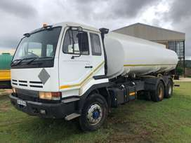 Nissan CW350 18'L Water Tanker for Sale
