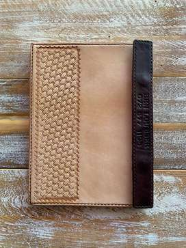 Leather Tablet Cover (Flip type)