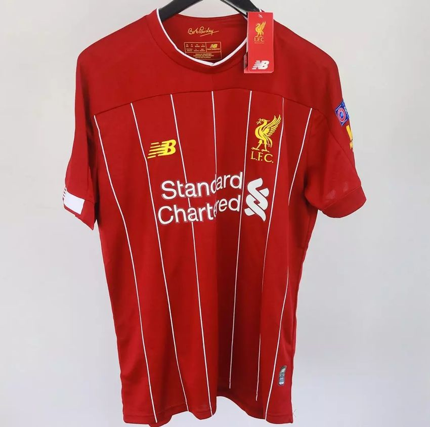 Liverpool 19/20 home shirt 0