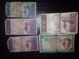 Old South African coins and notes for sale