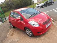 Image of Automatic 2008 Red Toyota Yaris T3 for sale