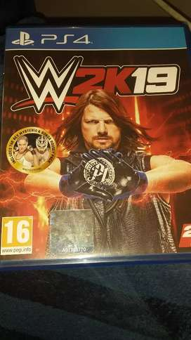Ps4 wrestling 2k19 second hand