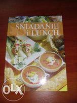 Książka kucharska ' Śniadania i Lunch ' + gratis książka 'przystawki'