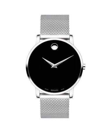 Часы Movado Mesh Museum Black Dial Stainless Steel модель 0607219 Харьков - изображение 2