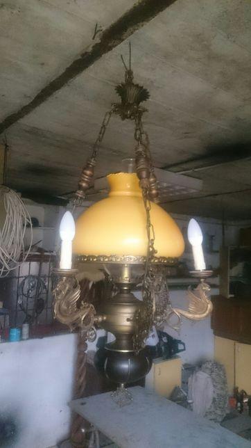 lampa - żyrandol lampa naftowa wisząca Międzyrzec Podlaski - image 4