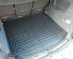 Коврик в багажник для Volkswagen Touran (10-) Avto-Gumm