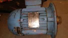 Motor 3 phase and hydraulic pump