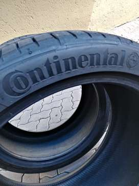 """2 x Continental sport Contact 5  255/35 18"""" brand new tyres for sale."""