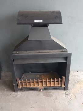 Jet master gas fireplace
