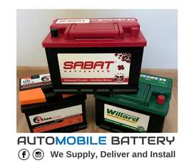 New Car Batteries - Mobile service