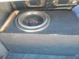 subwoofer & Amp for sale plug and play