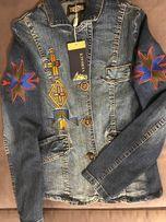 Versace Ittierre, пиджак джинсовый, размер XS-S