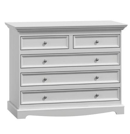Komoda 5 szuflad biała Belluno Elegante Staniątki - image 1