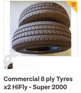 X2 HIFLY super 2000 tyres