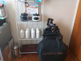 Caribbean Tan - Deluxe Spray Tan Salon Kit